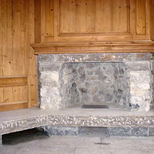 offener Kamin gemauert
